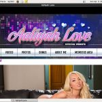 Aaliyah Love Order Page