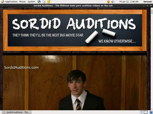 Account Free For Sordid Auditions V2