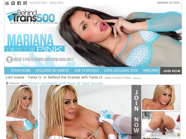 Behind Trans 500 Join By Text Message