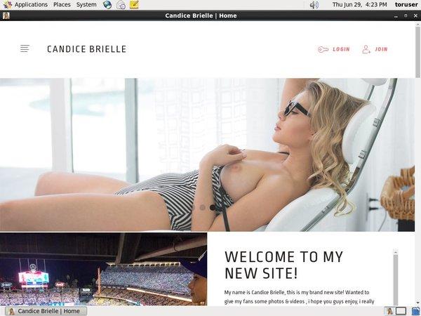 Candice Brielle Automatische Kassen