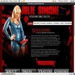 Juliesimone.com Pegging