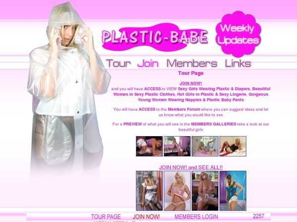 Plastic Babe With ECheck
