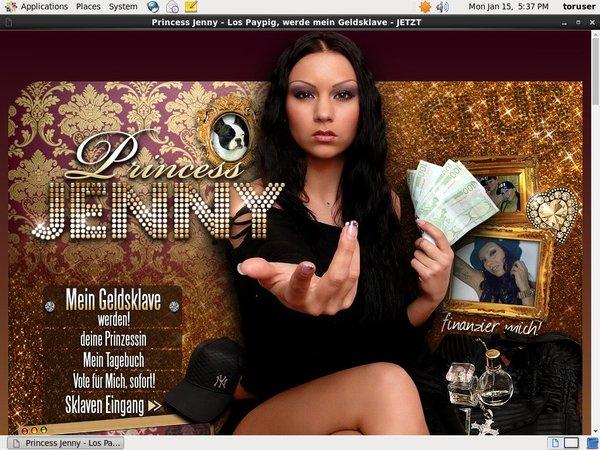Princess Jenny Buy Credits
