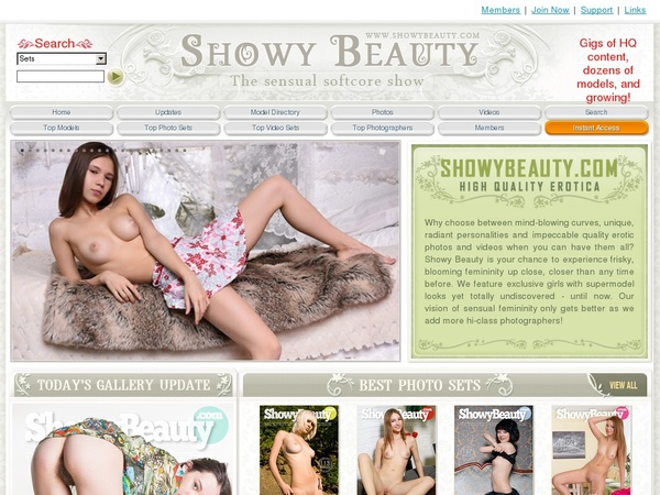 Showybeauty.com Dvd