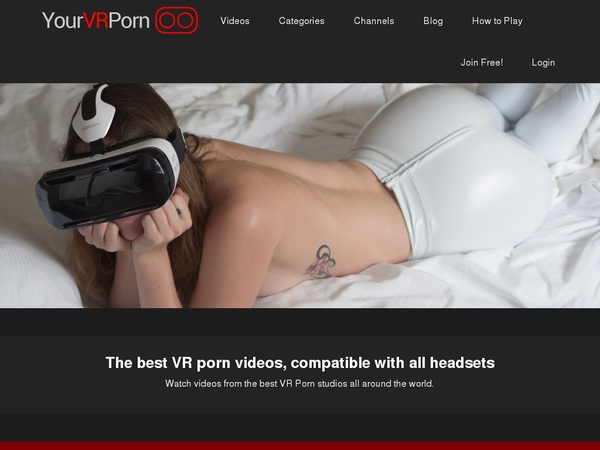 Your VR Porn Offer Paypal