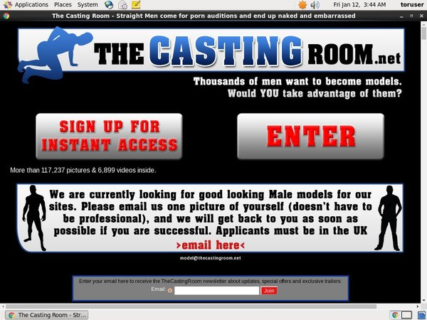 Accounts Free Thecastingroom.net