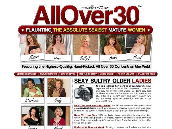 Allover30original Freies Konto