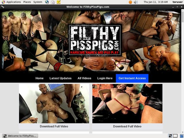 Filthypisspigs Free Login And Password
