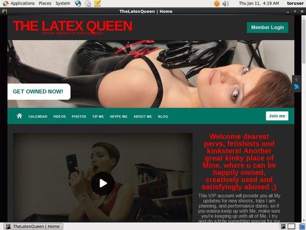 Free TheLatexQueen Accounts