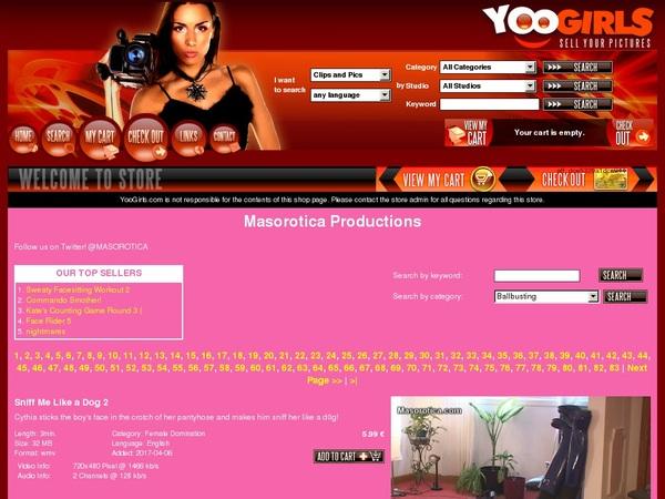 MasoroticaProduction Username Password
