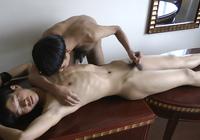 Asian Slave Boy bareback