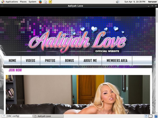 Get Aaliyah Love Account