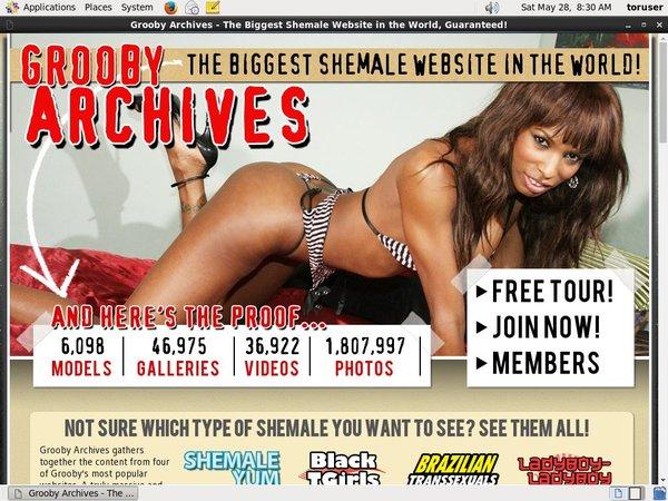 Grooby-archives.com Contraseña Gratis