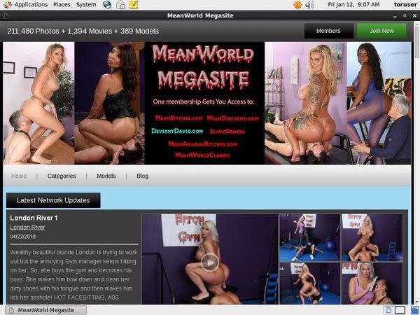 Mean World Sign Up Link