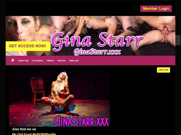 GinaStarr Discount Code