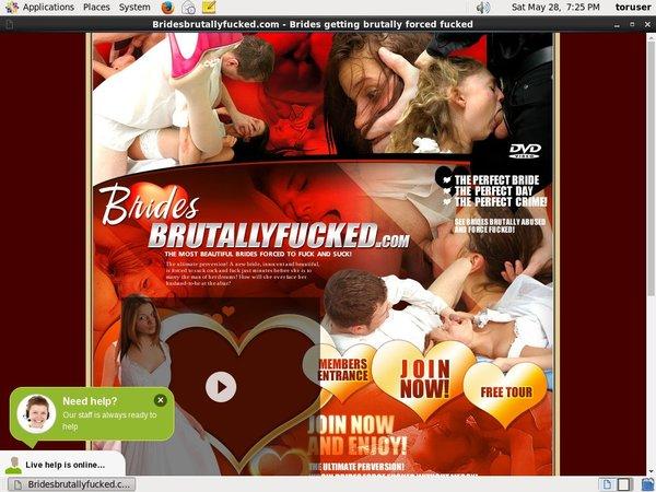 Brides Brutally Fucked Registration Form