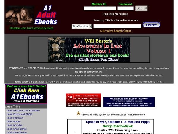 A1adultebooks.com Join Discount