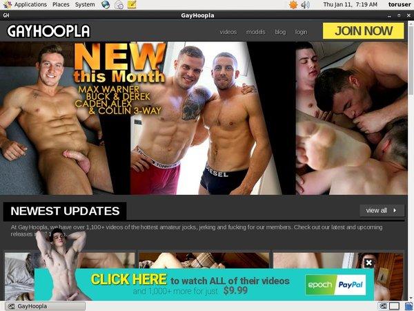 Gayhoopla Members Password