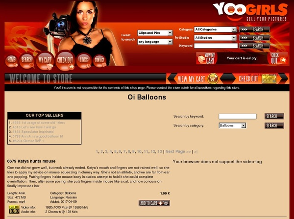 Oi Balloons Password Generator