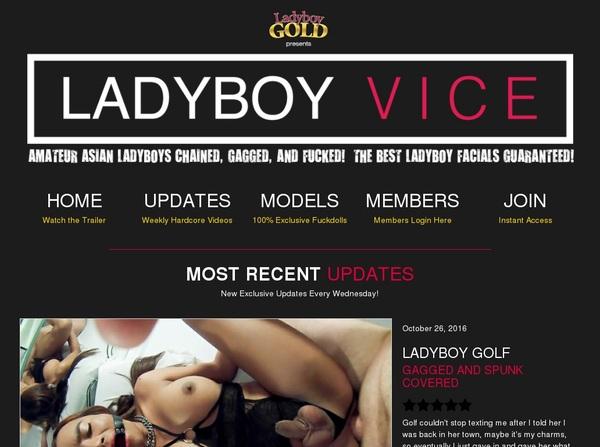 Ladyboyvice Videos