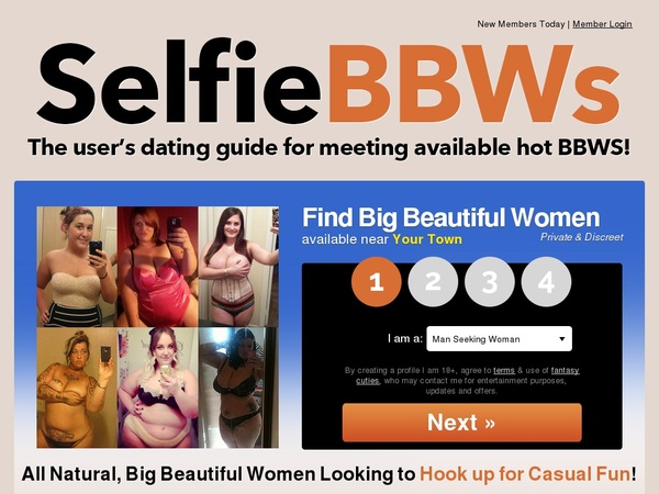Selfie BBWs Mobile Pass